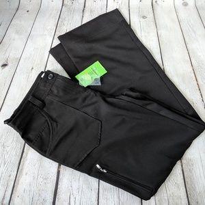 🆕NWT Izod Golf Pants ⛳  Bootcut, Black, 4